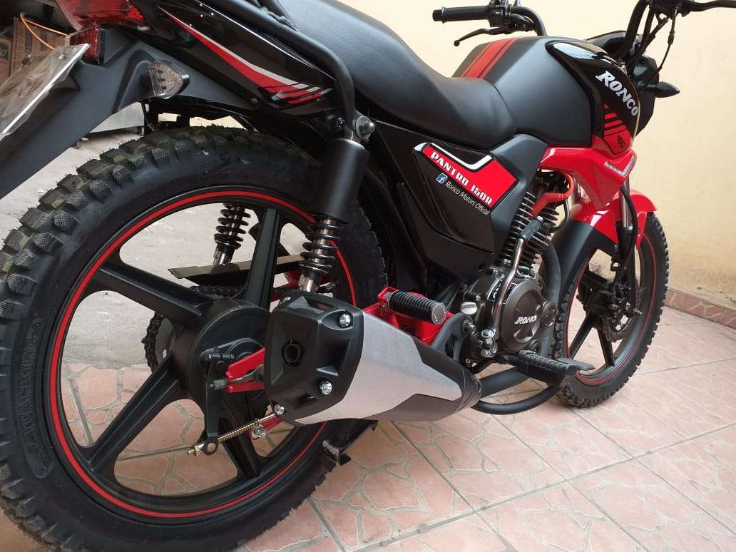 Imagen producto Se vende moto marca Ronco modelo pantro año 2019 5