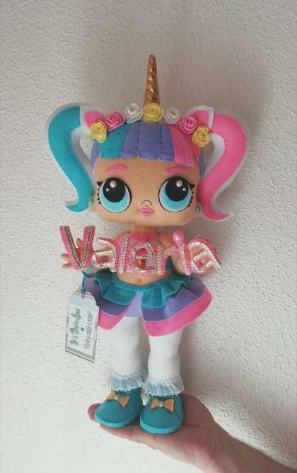 Imagen producto Hago muñecas lol unicornio Personalizadas de 50cm  1