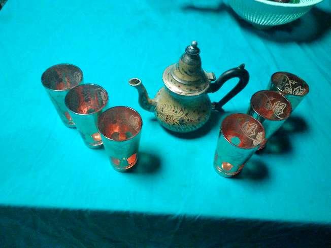 Imagen producto Tetera y vasos 2