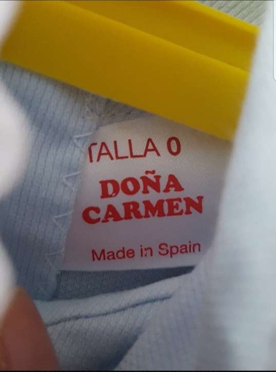Imagen producto Vestido niña talla 0 de Doña Carmen 3