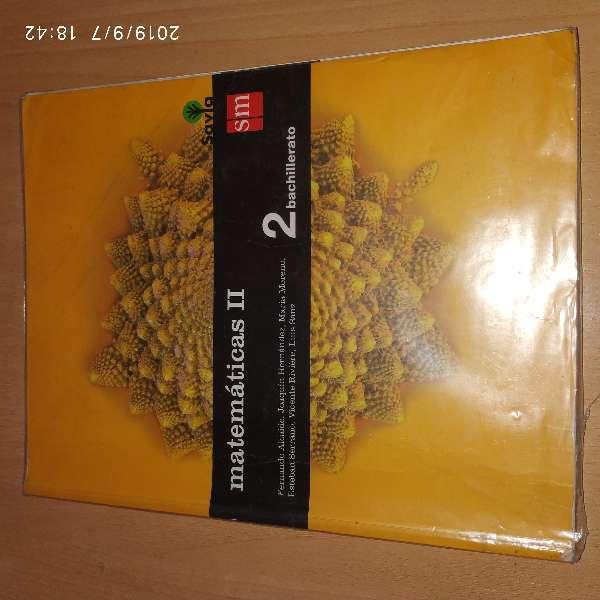 Imagen producto Libro de Matemáticas II, 2 Bach 1