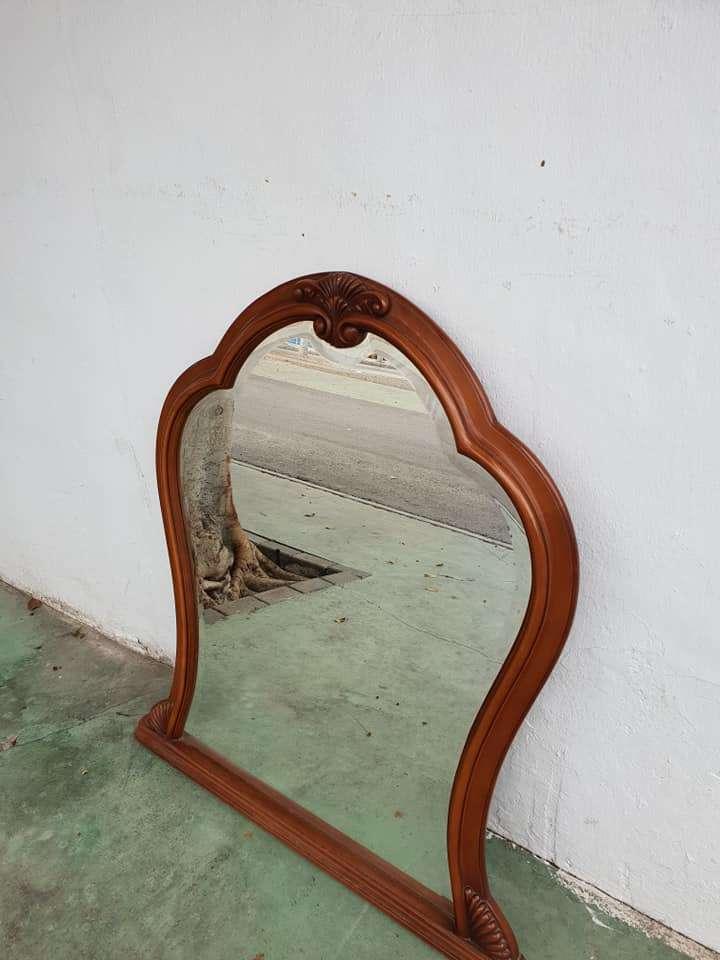 Imagen Espejo madera macizo