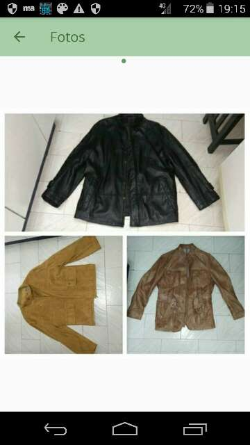 Imagen Tres chaquetas de marca