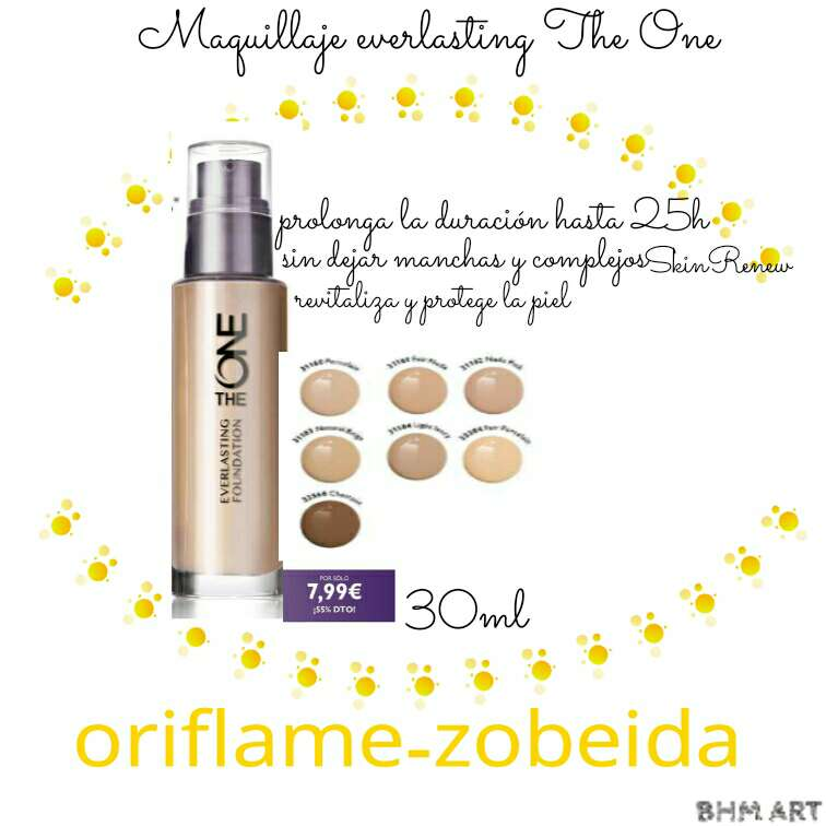 Imagen Base maquillaje  everlasting the one