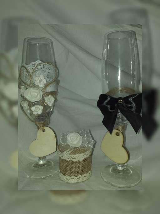 Imagen producto Copas para boda y bautizo  3