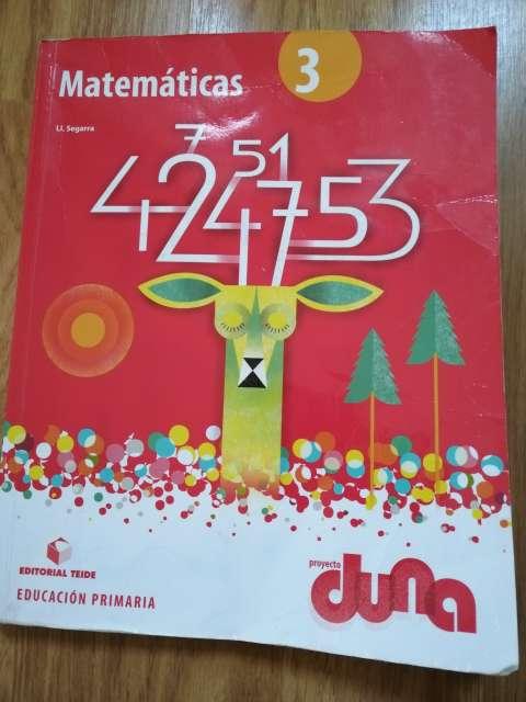 Imagen Matemáticas 3 primaria Teide