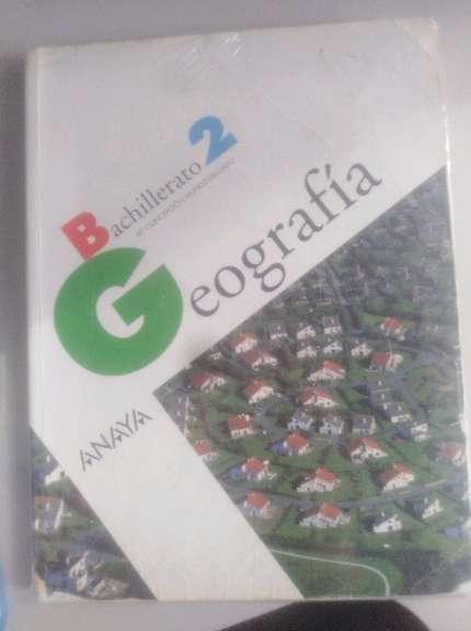 Imagen Libro geografía 2°bachillerato
