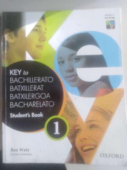 Imagen Libro inglés 1° bachillerato