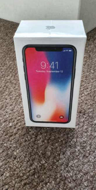 Imagen iPhone X 256gb Space Grey Unlocked To Any Network