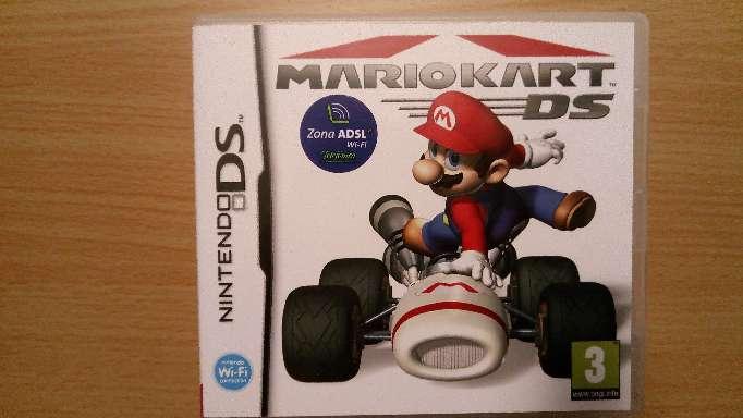 Imagen Juego Mario Kart Nintendo Ds