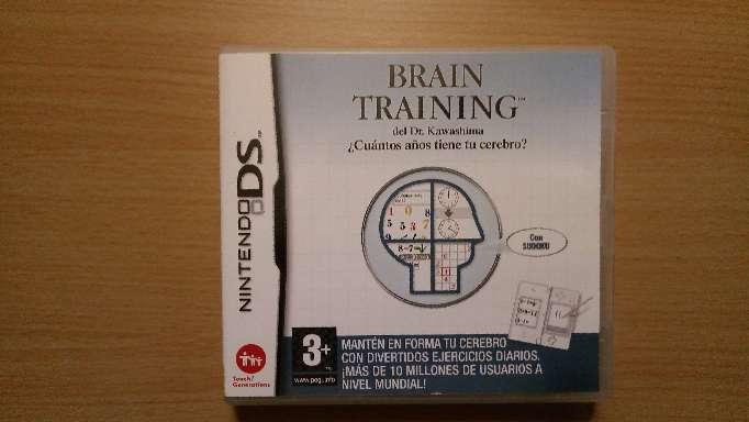 Imagen Juego Nintendo Ds Brain Training