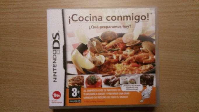 Imagen Juego Nintendo Ds Cocina Conmigo