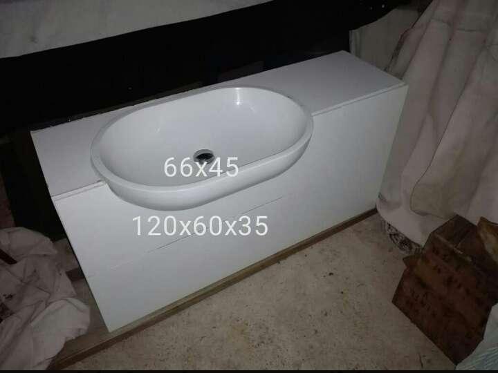 Imagen mueble lavabo suspendido