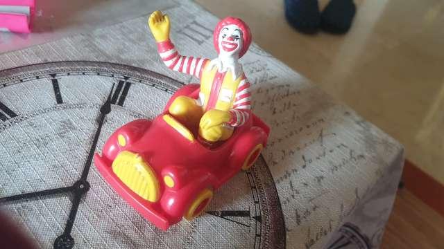 Imagen juguete vintage macdonald