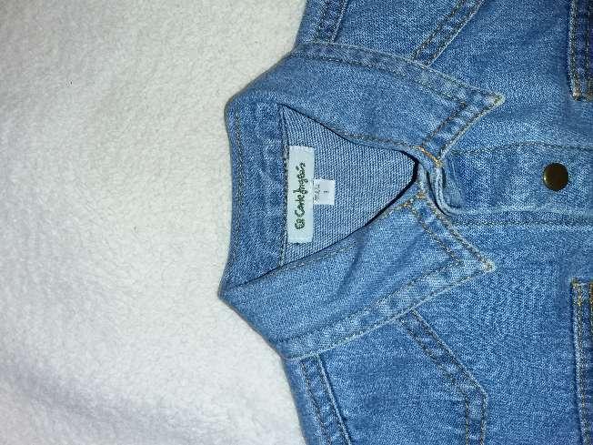 Imagen producto Camisa vaquera de 0 a 3 meses 2