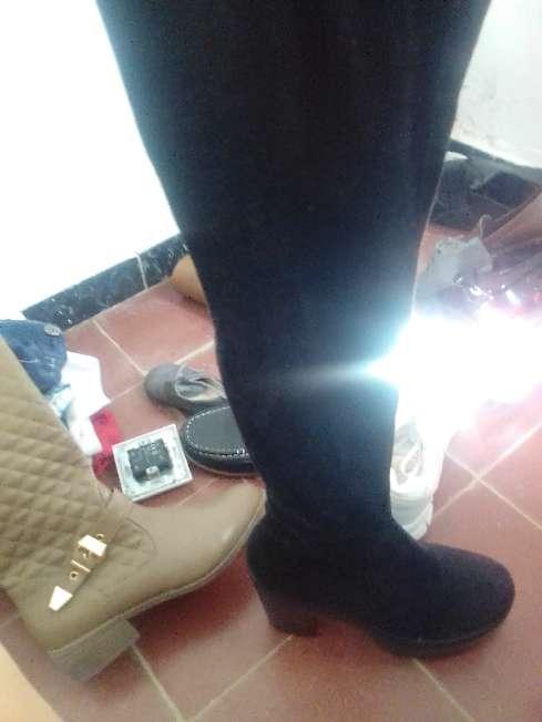 Imagen botas altas de tacón