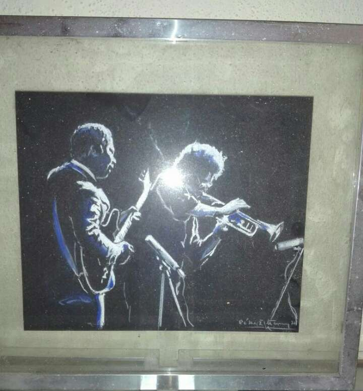 Imagen pintura x6 al pastel 25cm