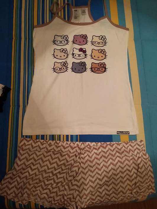 Imagen Pijama Hello Kitty
