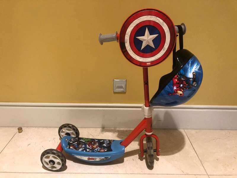 Imagen bicicleta Capitán América