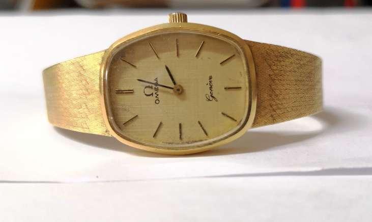 Imagen producto Reloj omega todo oro 2