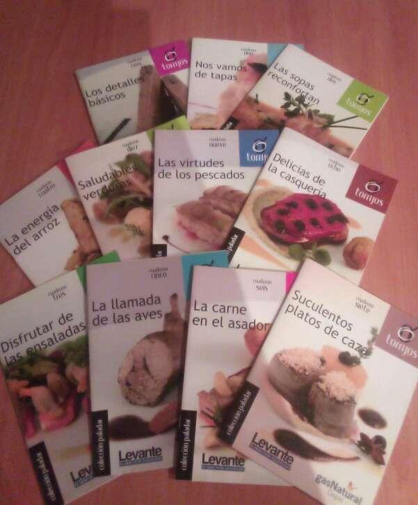 Imagen libros de cocina