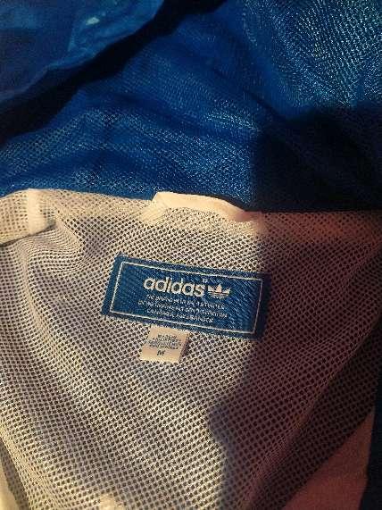 Imagen producto Chaqueta de Primavera, Adidas, Blu y Blanca, talla M  3