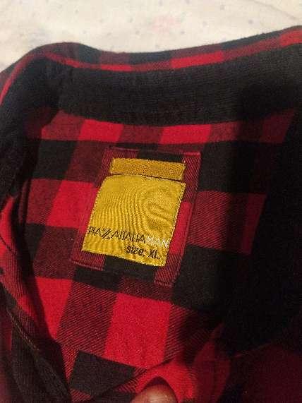 Imagen producto Camisa invernal, Piazzaitaliaman, talla XL 2
