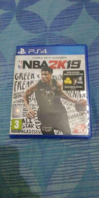 Imagen juego ps4 baloncesto NBA 2k