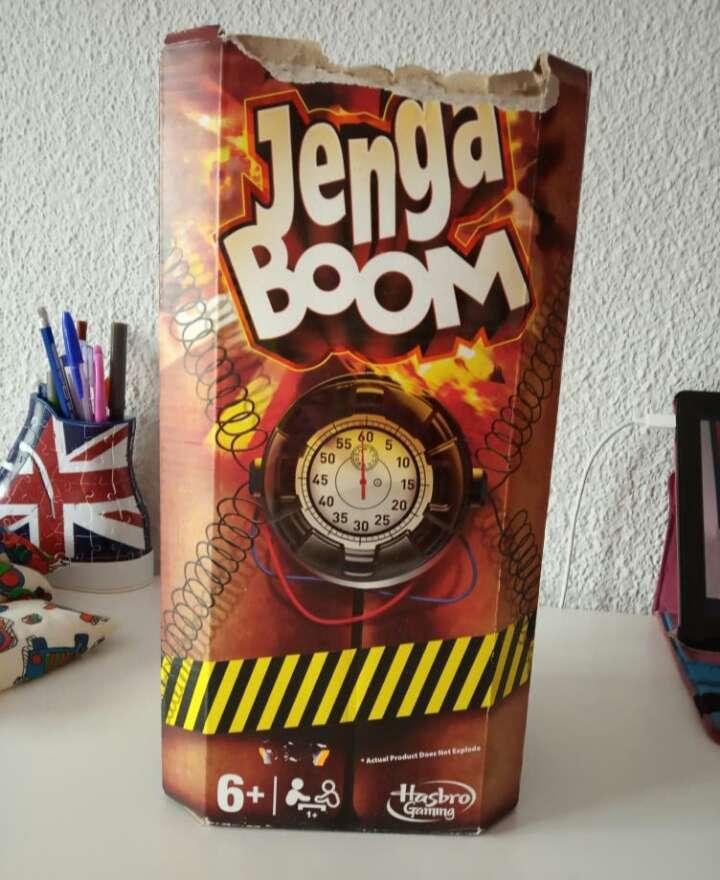 Imagen juego jenga boom