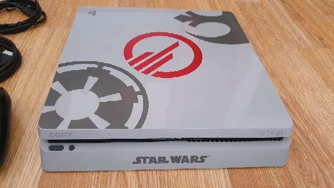 Imagen producto Ps4 slim 1tera versión limitada star wars 3