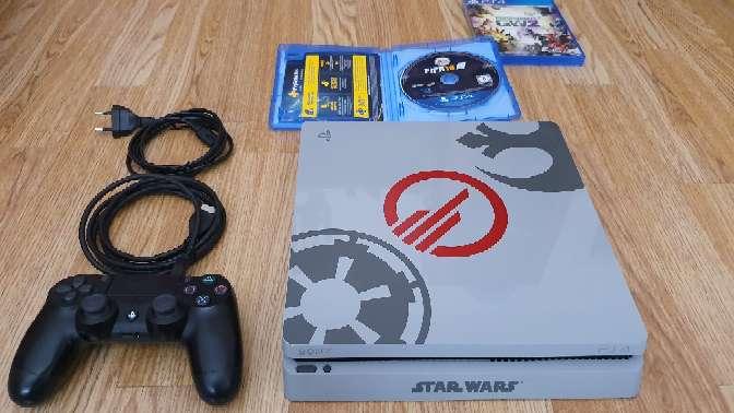 Imagen ps4 slim 1tera versión limitada star wars