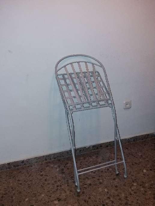 Imagen producto Silla de hierro plegables 2