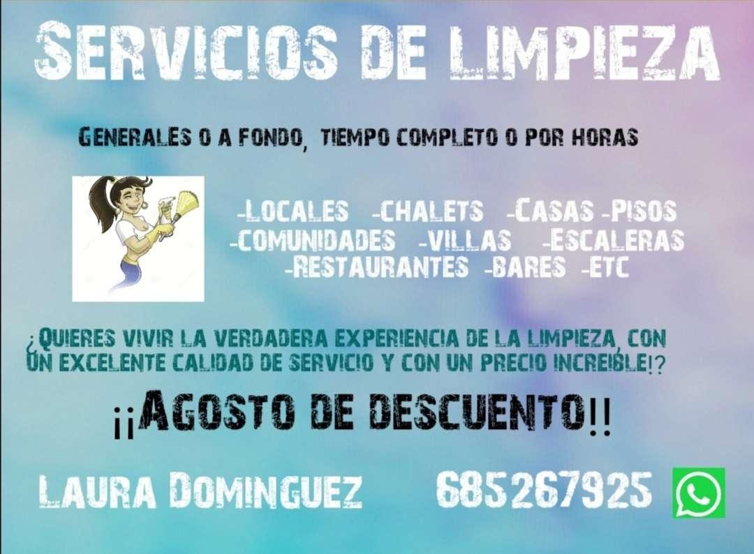 Imagen Servicio de limpieza al mejor precio!