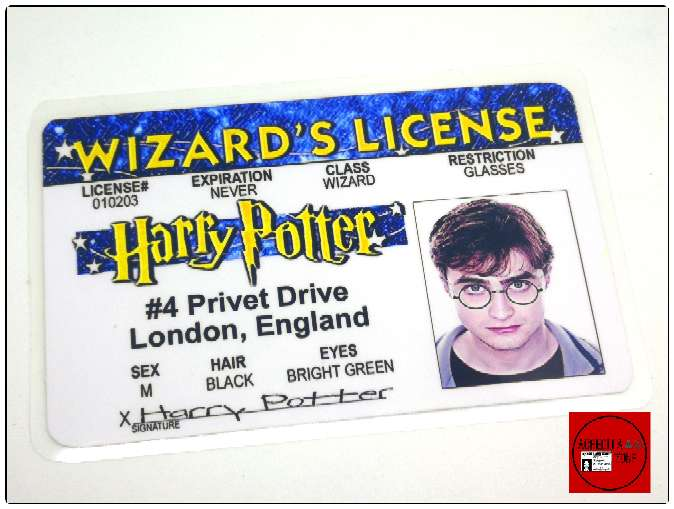 Imagen producto Acreditación de Harry Potter 1