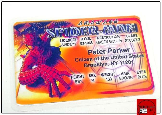 Imagen Acreditación de Spiderman