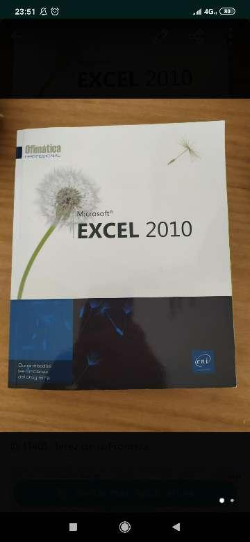 Imagen manual excel 2010