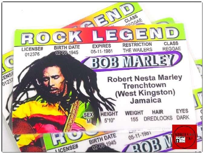 Imagen Acreditación de Bob Marley