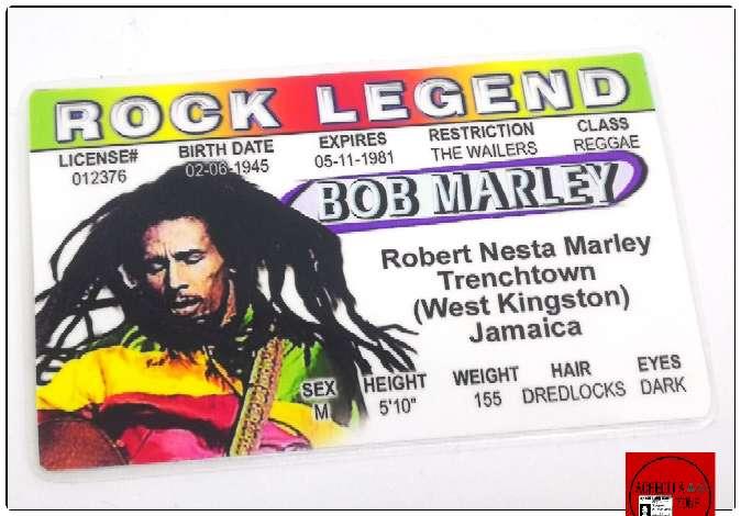 Imagen producto Acreditación de Bob Marley 2