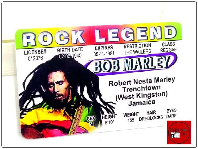 Imagen producto Acreditación de Bob Marley 3