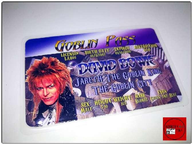 Imagen Acreditación David Bowie en