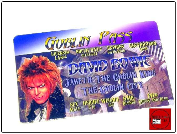 Imagen producto Acreditación David Bowie en