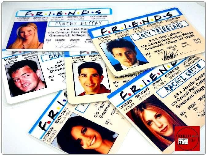 Imagen Acreditaciones de la serie FRIENDS.