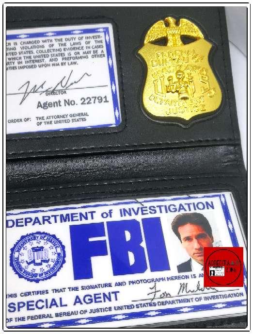 Imagen producto Acreditación de Fox Mulder 5