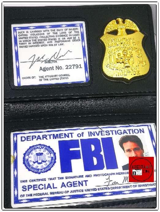 Imagen producto Acreditación de Fox Mulder 6