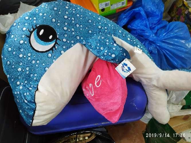 Imagen peluche delfín grande