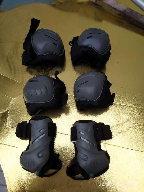 Imagen conjunto protección patines
