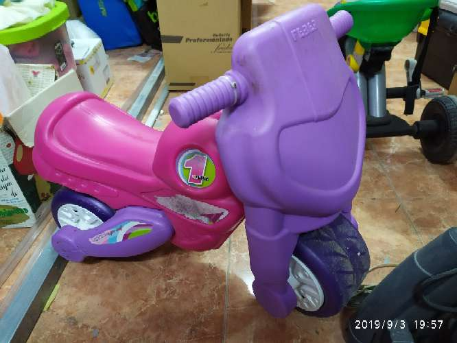 Imagen moto para niños
