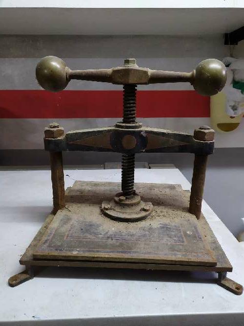 Imagen producto Prensa antigua 3