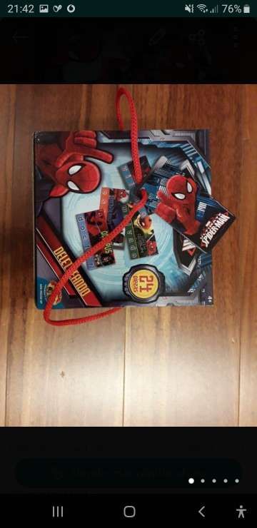 Imagen Spiderman piezas