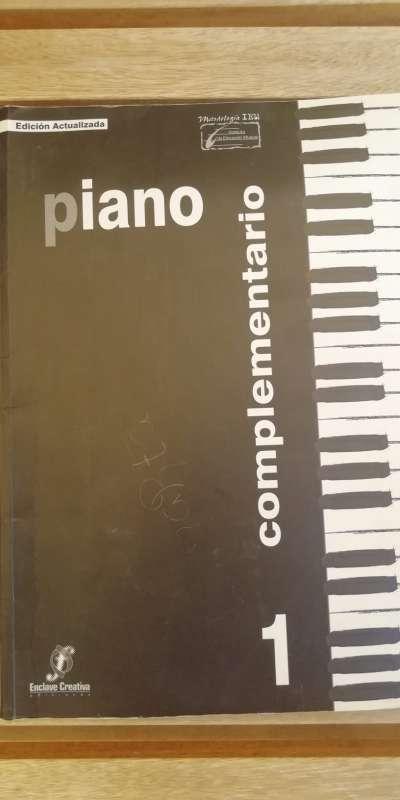 Imagen Libro piano complementario 1